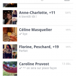 Facebook messagerie