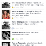 Facebook mise à jour notifications