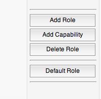 user role editor - rôles utilisateurs