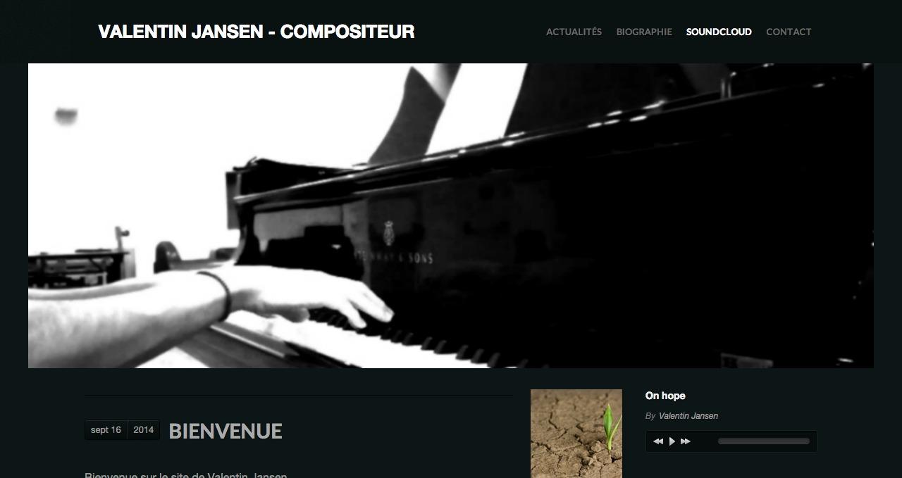 Valentin Jansen   Compositeur