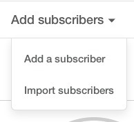 All subscribers of Liste 1 MailChimp