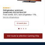 Noel 2016 Boulanger webdesign mobile